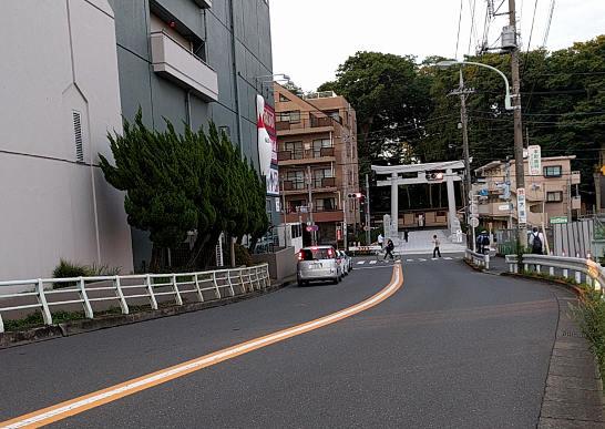 大國魂神社の新西参道