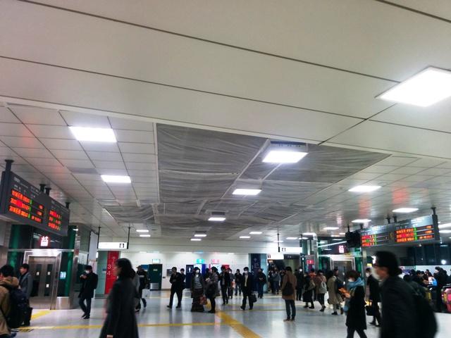 府中駅改札