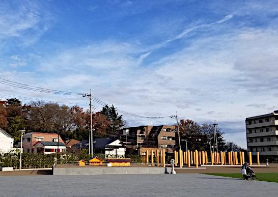 国司館と家康御殿史跡広場